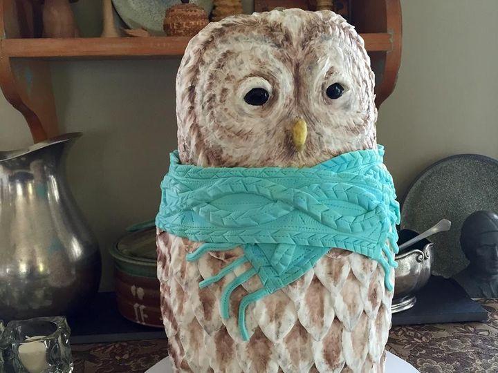 Tmx 1449099806868 Knitted Owl New London, NH wedding cake