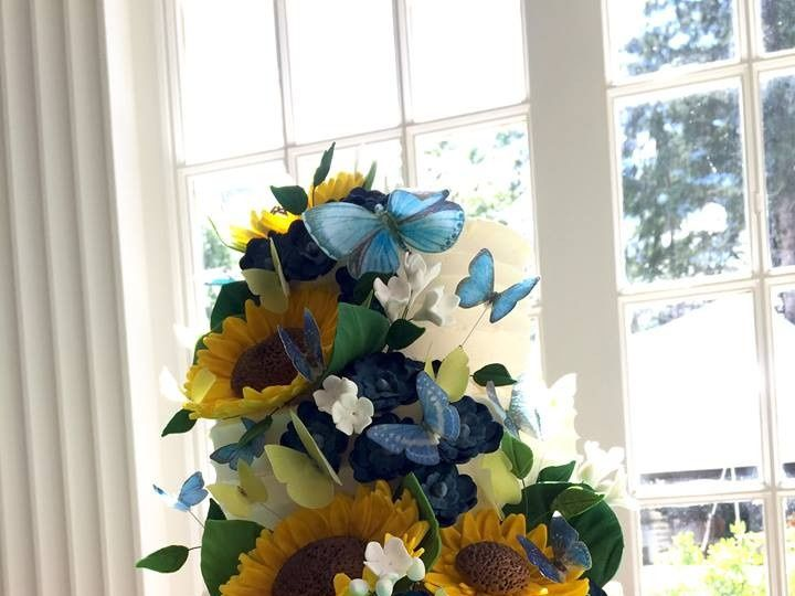 Tmx 1476208466593 Hollie Blue Chris Quechee, Vermont wedding cake