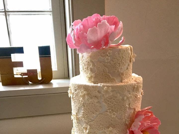 Tmx 1508885538371 Vintage Lace New London, NH wedding cake
