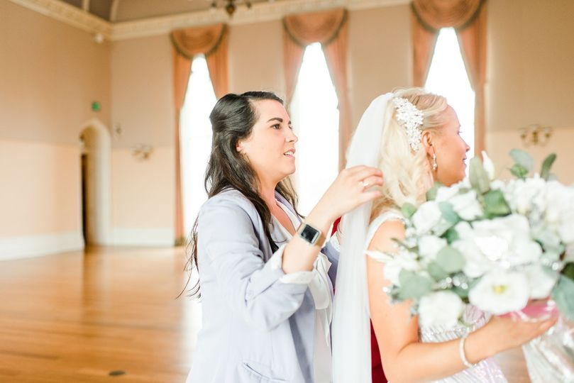 Finishing touches - Photo by Krystal Trout Photo