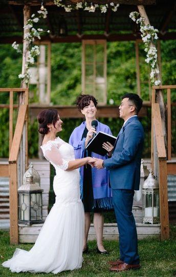 Wedding officiant