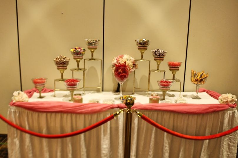 Reception-Candy Table