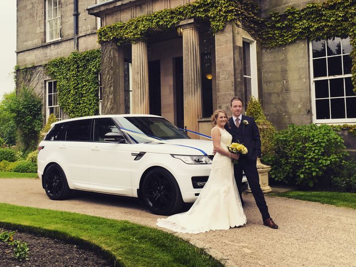 Wedding range rover