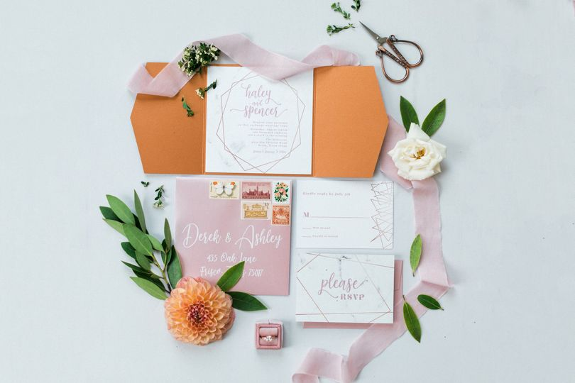 Orange and pink theme