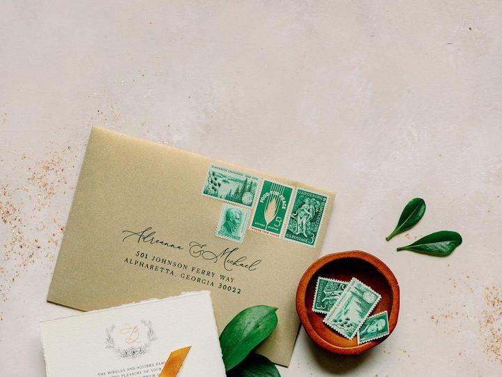Tmx Brown Fox Creative 21 1 24 Green Wedding Invitation Kelsey Lanae Photography 1 51 623329 161455458098509 Burleson, Texas wedding invitation