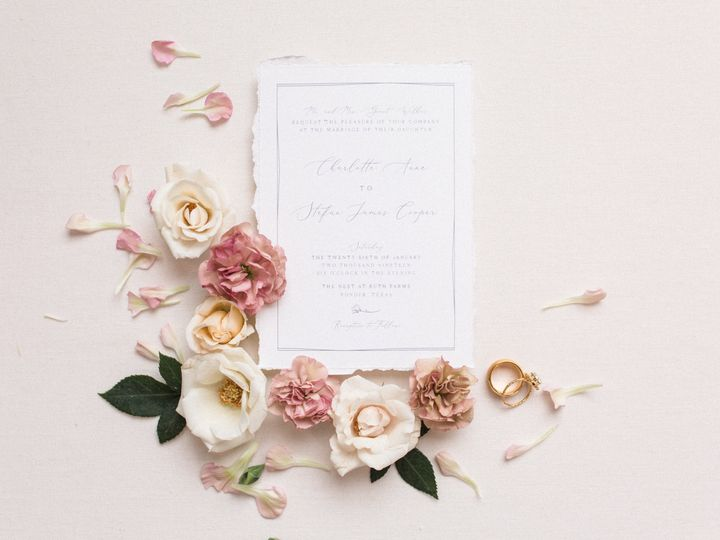 Tmx Sami Kathryn Photography 72 51 623329 Burleson, Texas wedding invitation
