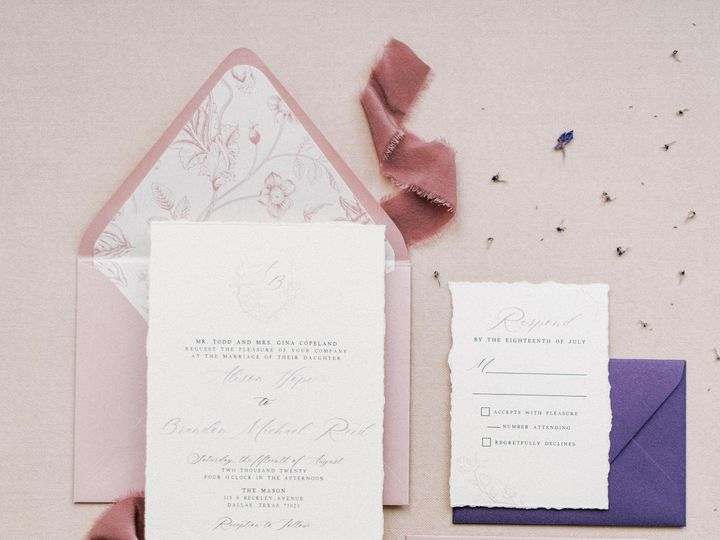 Tmx Themasondallas 184 51 623329 160772592589449 Burleson, Texas wedding invitation