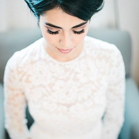 Beautiful Shot of Bridal Glam!