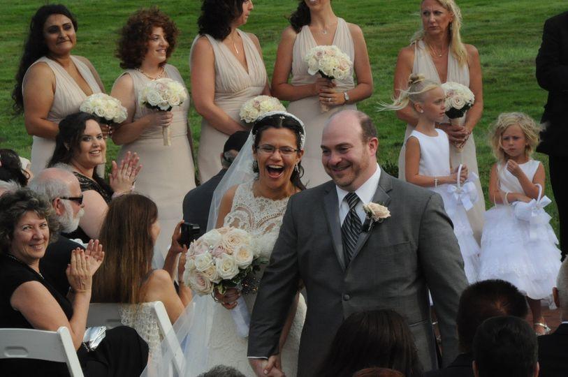 Wedding ecessional