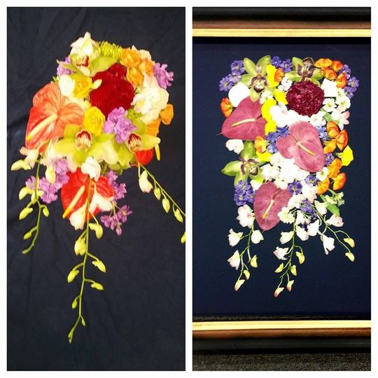 Preserve Bouquets with Pressed Floral Memories - Flowers - Naples ...