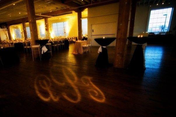 Tmx 1367629977774 Reception With Gobo Resized Keller, Texas wedding florist