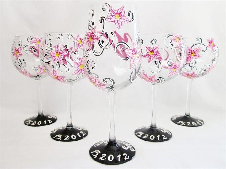 Tmx 1385048862038 Stargazerflowerglasses2 Montpelier wedding favor