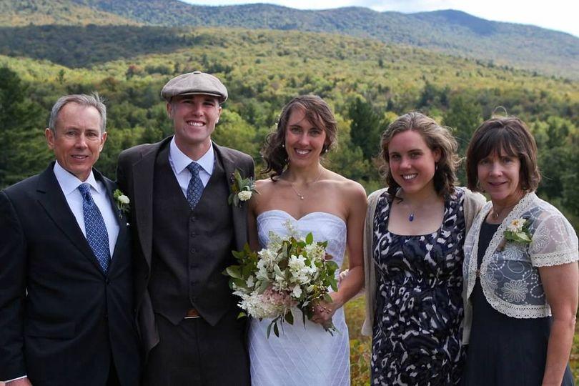Bride's guests