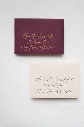 Order calligraphy a la carte: https://www.ettiekim.com/envelope-calligraphy/