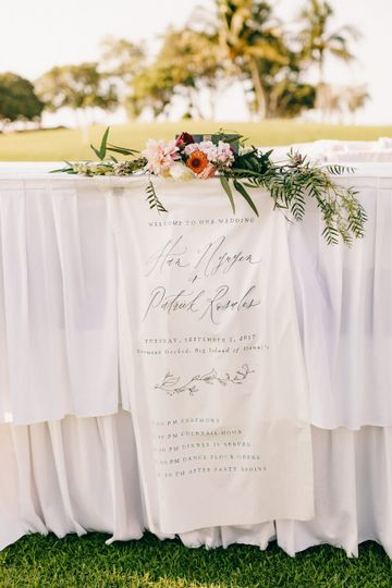 Calligraphy Order of Event Banner:  https://www.ettiekim.com/shop-banners/order-of-events