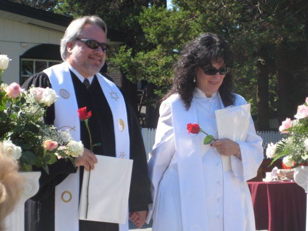 At the ceremony