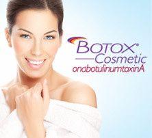 botox logo with woman