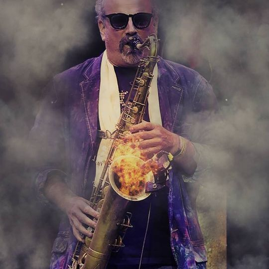 Playing the sax
