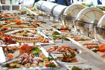 Buffett style catering