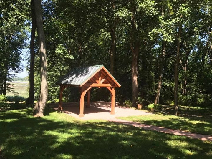 Pavilion for outdoor ceremonies