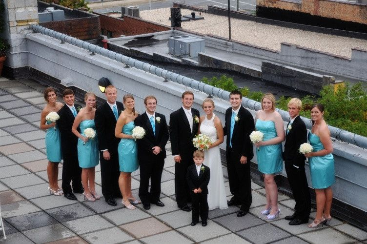 Wedding party - Captured Moments Photography