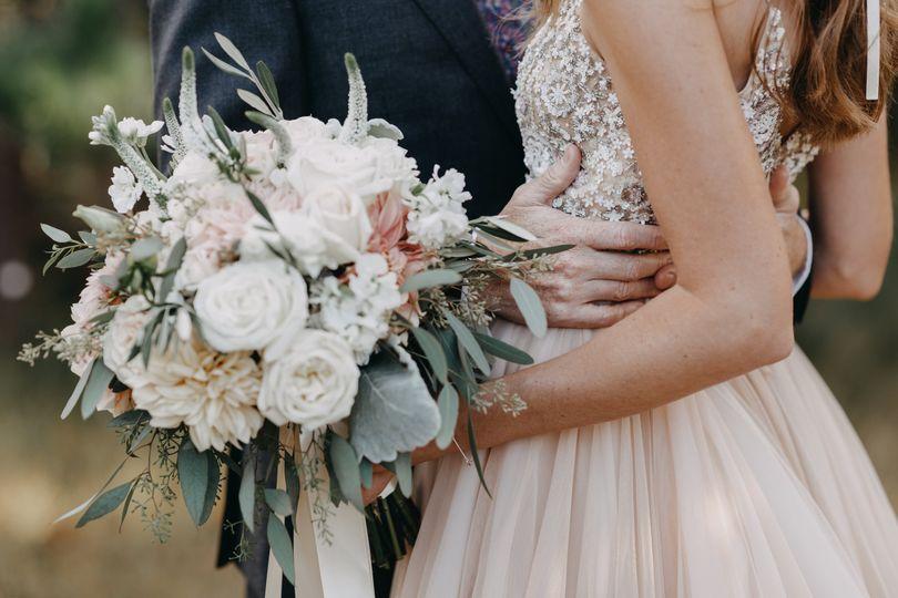 Details of the bouquet
