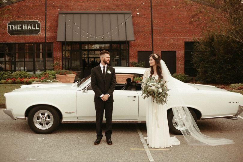 Downtown Columbia, SC Wedding