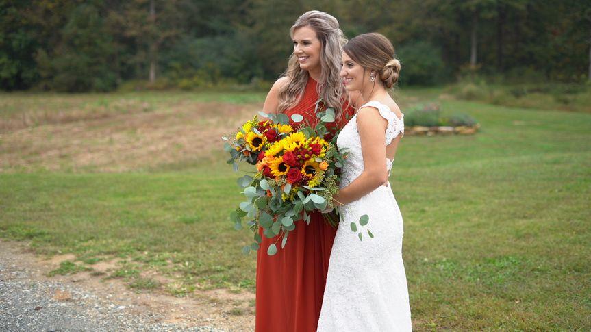 Bride and Best Friend