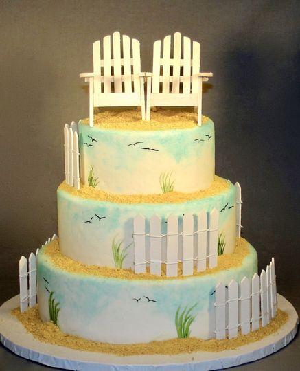 Vanessa Ross Cakes - Wedding Cake - Lincoln University, PA - WeddingWire