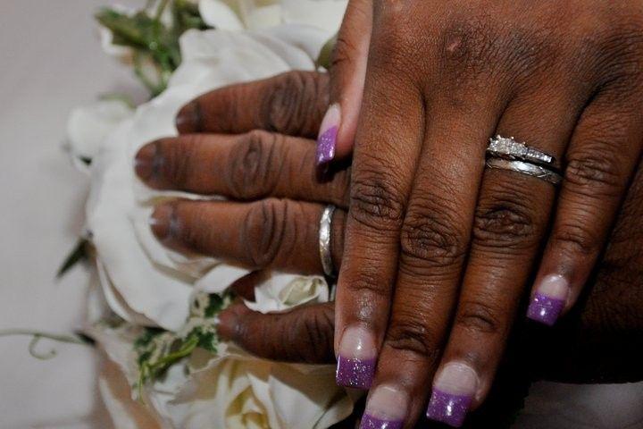 Purple polish