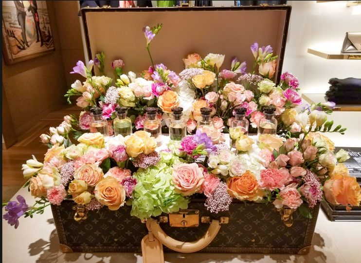 Flower Bar At luxury Store