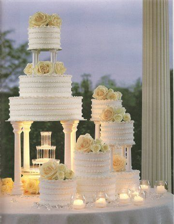 Multiple-layered cake