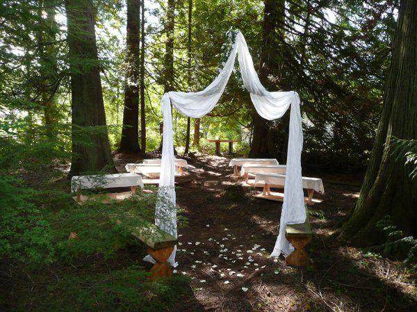Wedding venue entrance