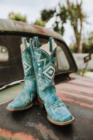 Rustic boots