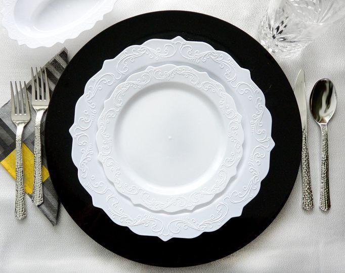 Elegant white collection