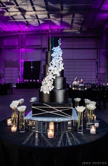 WCbyTA - Square black cake