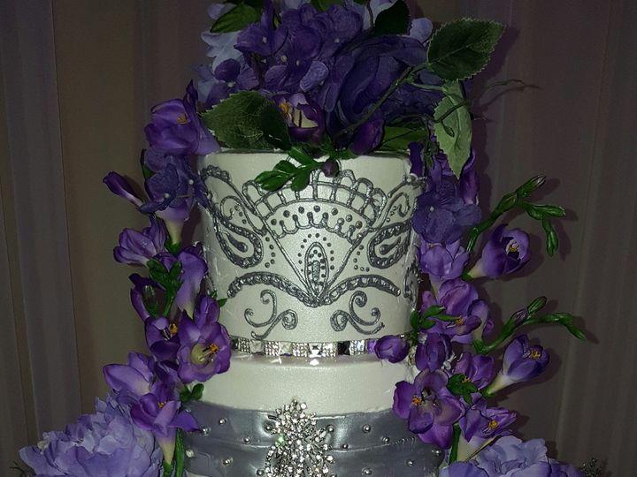 Tmx 1459564139050 Img344 Henna Wedding Cake Houston, Texas wedding cake