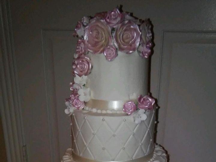 Tmx 1459564288782 Img3450 Ivory Wedding Cake.jpg Houston, Texas wedding cake