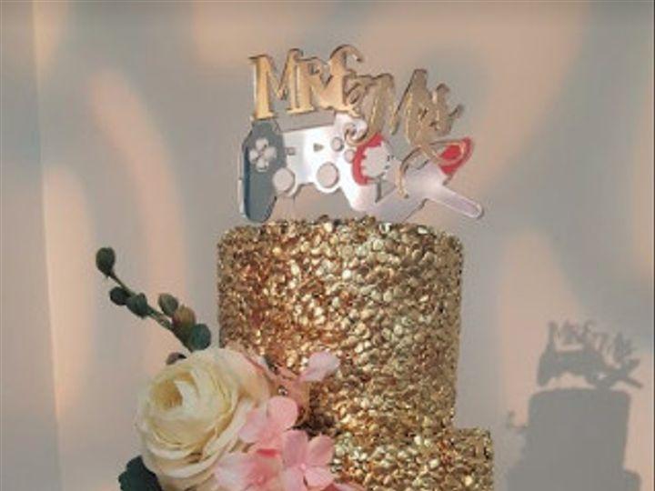 Tmx 1489685360344 8 Houston, Texas wedding cake