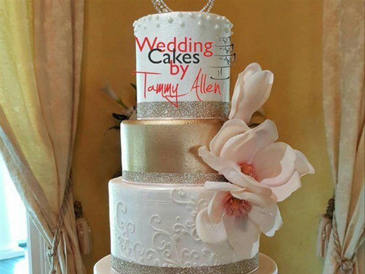 Tmx 1502999079194 3 Houston, Texas wedding cake