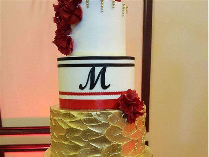 Tmx 1502999093948 5 Houston, Texas wedding cake