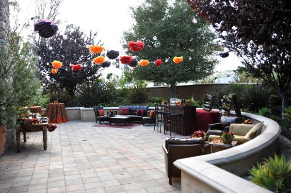 Private Patio for Cocktails or Intimate Ceremonies
