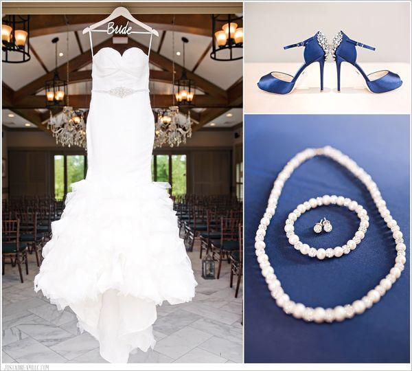 Wedding Dress, Shoes & Jewelry