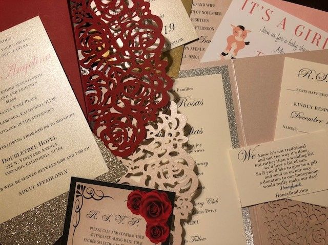 Various Invitations