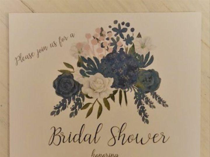 Tmx Navy Flowers Shower Invite 51 537429 Riverside wedding invitation