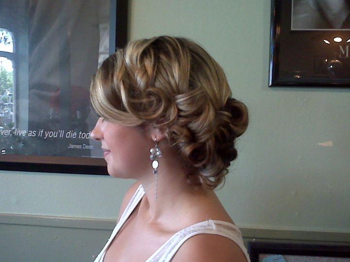 Bridal trial, photo taken by Heidi.