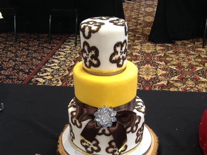Tmx 1413816629783 Bloom55 Indianapolis wedding cake
