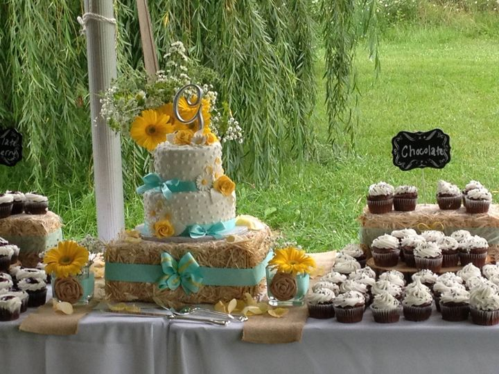Tmx 1413816647345 Blooms 33 Indianapolis wedding cake