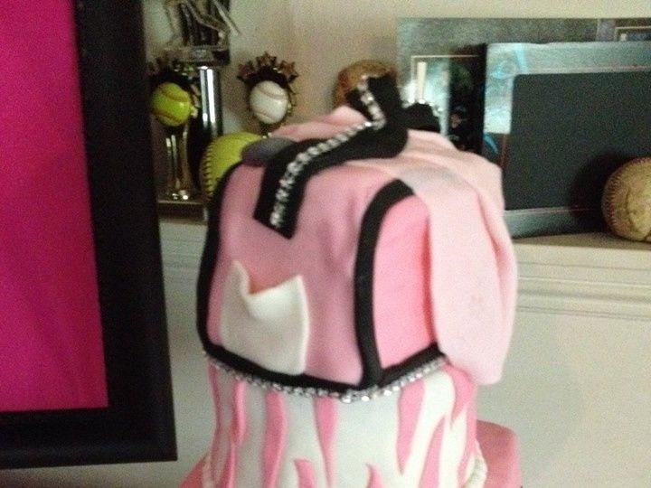 Tmx 1413816664791 Blooms1 Indianapolis wedding cake