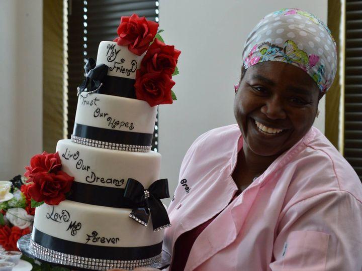 Tmx 1413816755420 Blooms111 Indianapolis wedding cake